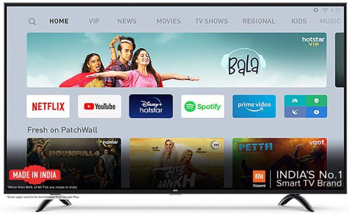 best 55 inch TV in India